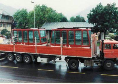 1981 Austausch Kabinen